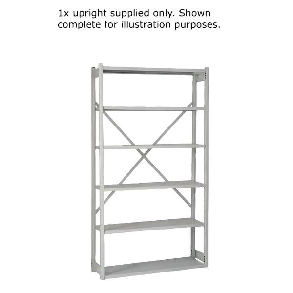 Bisley W1000xD300mm Grey Shelving Extension Kit 1018ESEXK30-AT4