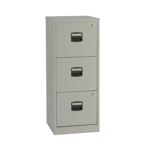 Bisley 3 Drawer A4 Filer Grey BY60794