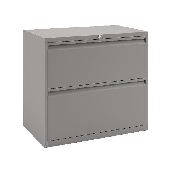 Bisley 2 Drawer Unit Goose Grey