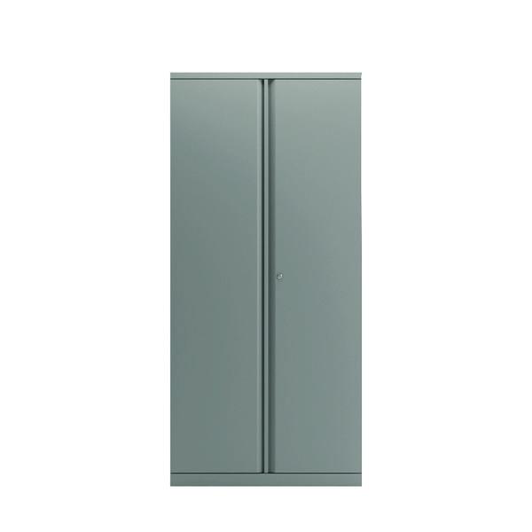Bisley 2 Door Cupboard Goose Grey 1968mm