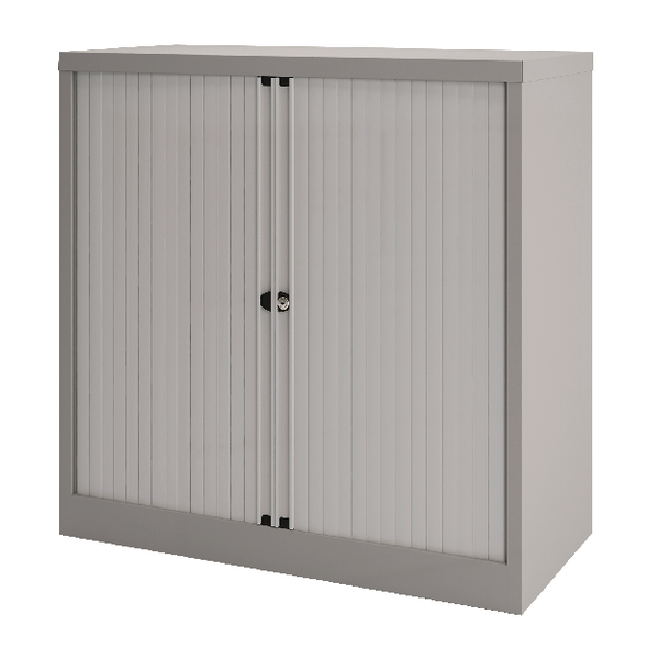 Bisley Tambour 733mm One Shelf Goose Grey