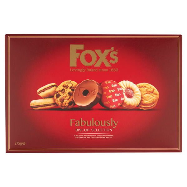 Foxs Fabulously Biscuit Selection 275g A07926