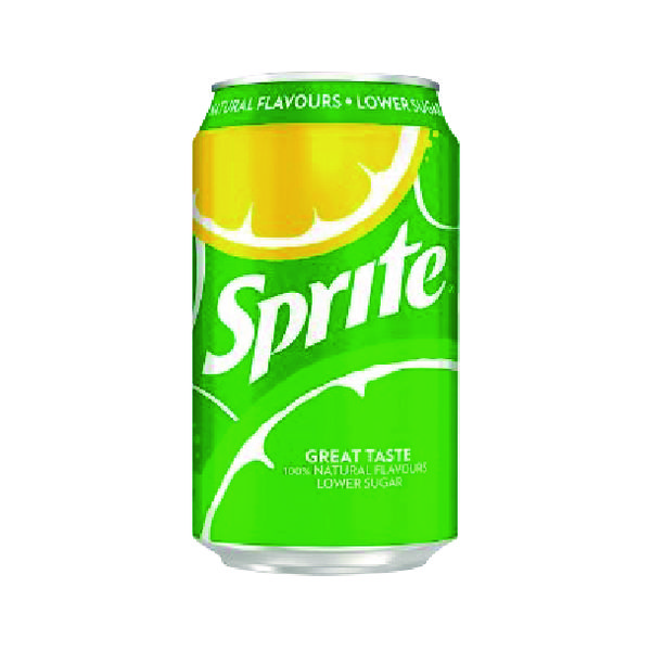 Sprite Lemon Lime Canned Drink 330ml (Pack 24 0402008