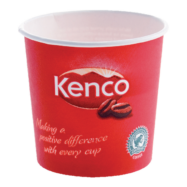 Kenco 7oz Singles Paper Cups Red (Pack of 800) B01794
