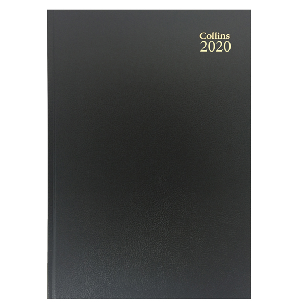 Collins Desk Diary A5 Day Per Page 2020 Red 52