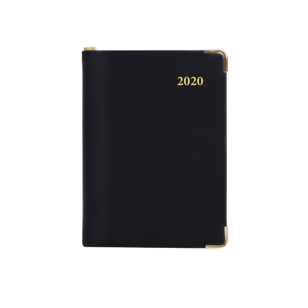 Collins Leadership Diary A4 Day Per Page 4 Person Appointment 2020 Black CP6742