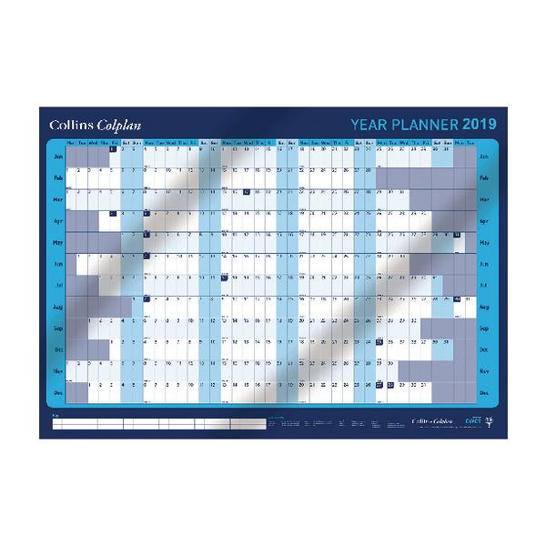 Collins Colplan Year Planner 2019 CWC9