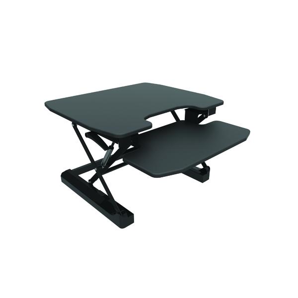 Contour Ergonomics Sit-Standing Desk Black