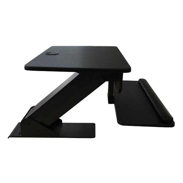 Contour Ergonomics Sit Stand Workstation Black
