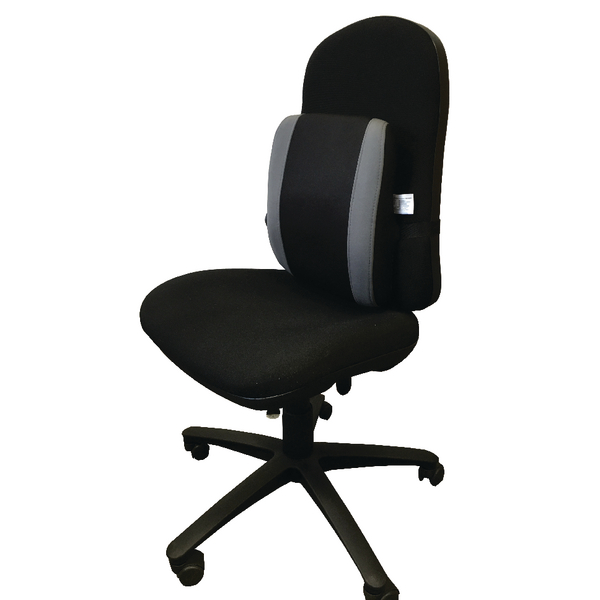 Image for Contour Ergonomics Adjustable Lumbar Support Black /Grey