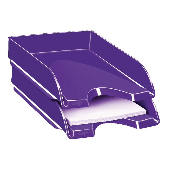 CEP Pro Gloss Purple Letter Tray 200GPURPLE