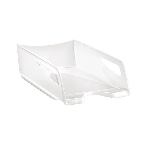 CEP Maxi Gloss Letter Tray Arctic White