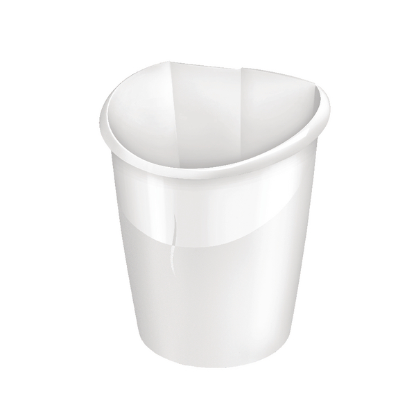 Image for CEP Ellypse Xtra Strong Waste Tub 15 Litre Arctic White 1003200021 (0)