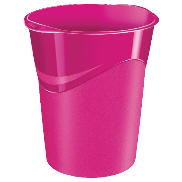 CEP Pro Gloss Pink Waste Bin 280GPINK