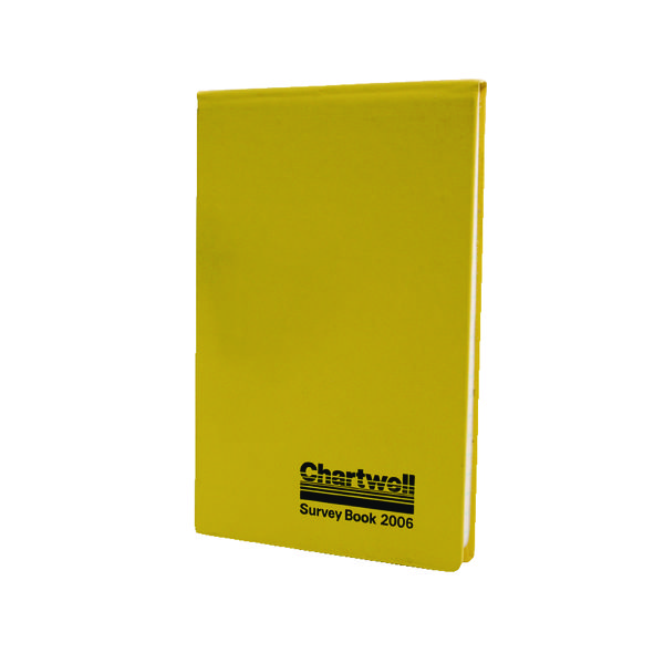 Chartwell Plain Weather Resistant Field Book 130x205mm 2006