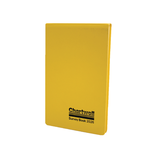 Chartwell Lined Weather Resistant Field Book 130x205mm 2026