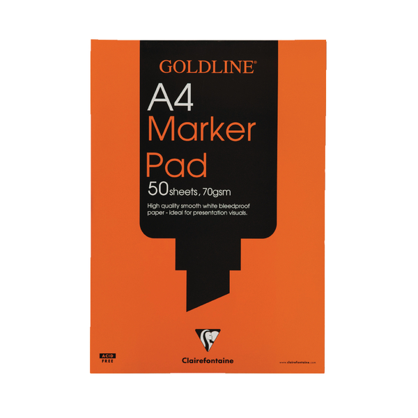 Goldline Marker A4 Pad (50 sheets) 70gsm GPB1A4