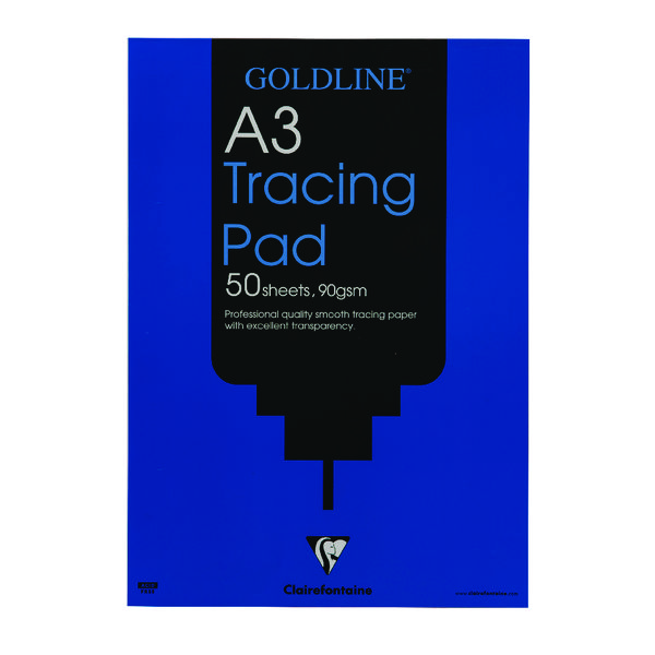 Goldline Professional Tracing Pad 90gsm A3 50 Sheets GPT1A3