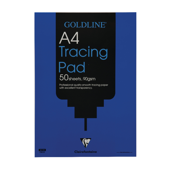 Goldline Professional A4 Tracing Pad 90gsm 50 Sheets GPT1A4