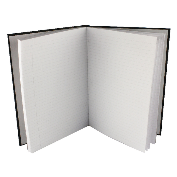 Collins Ideal Feint Ruled Margin Casebound Notebook A4 6429