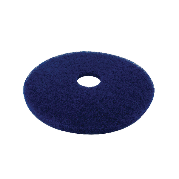 3M Blue 17 Inch 430mm Floor Pad (Pack of 5) 2ndBU17