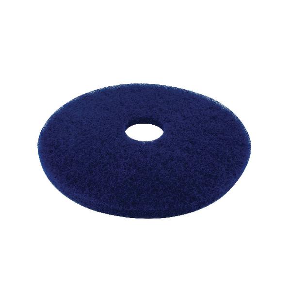 3M Blue 17 Inch 430mm Floor Pad (Pack of 5) 2ndBU17