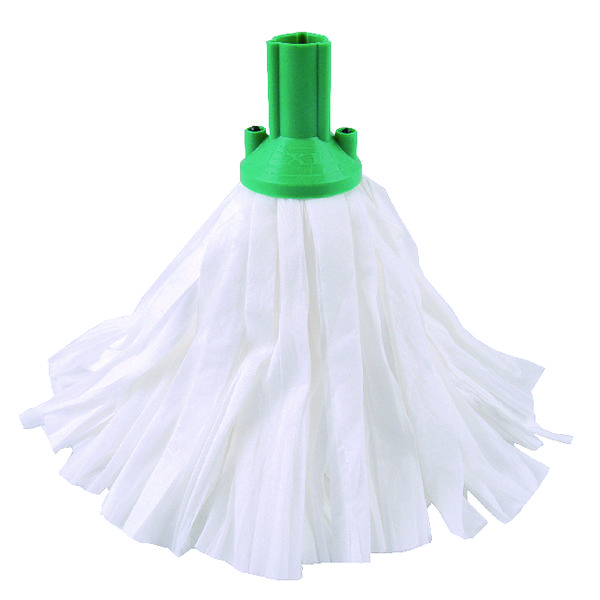 EXEL MOP BIG WHITE GREEN PK10 CNT02136