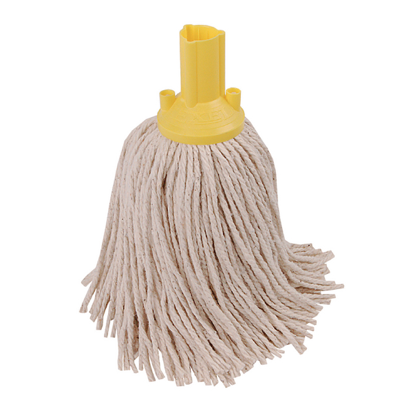 Exel Yellow 250g Mop Head (Pack of 10) 102268YL