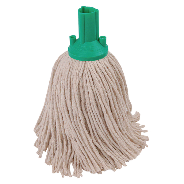 Exel Green 250g Mop Head (Pack of 10) 102268GN