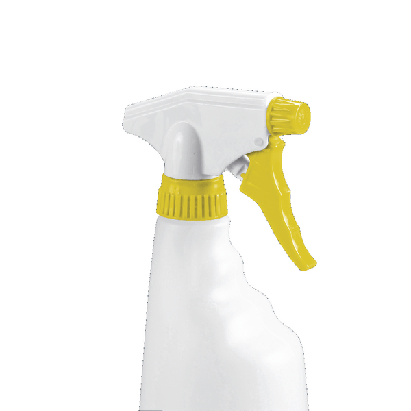 2Work Yellow Trigger Spray Refill Bottle (Pack of 4) 101958YL
