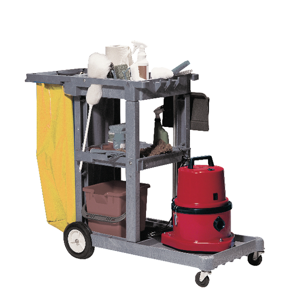 Struct-O-Cart Mobile Cleaning Trolley Grey 101332