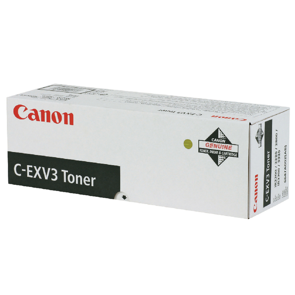 Canon IR2200 Black Copier Toner Cartridge 6647A002AA