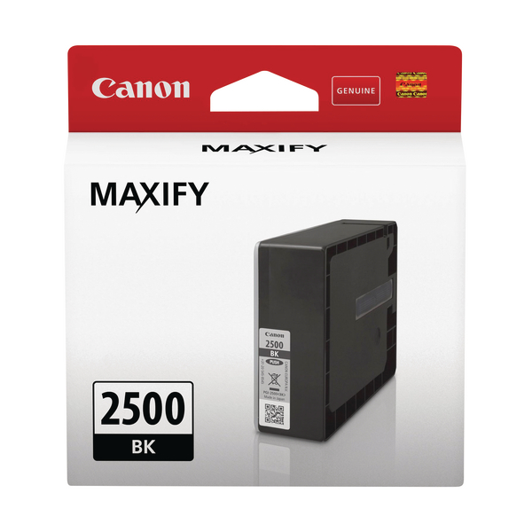 Canon PGI-2500 Bk Ink Cartridge Black 9290B001