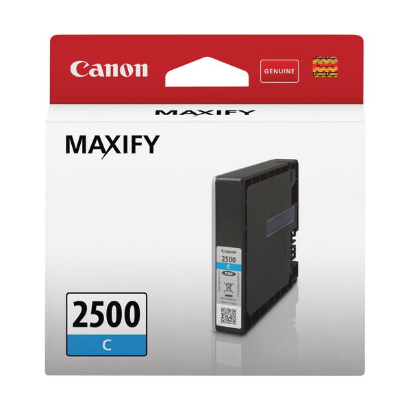 Canon PGI-2500 C Ink Cartridge Cyan 9301B001