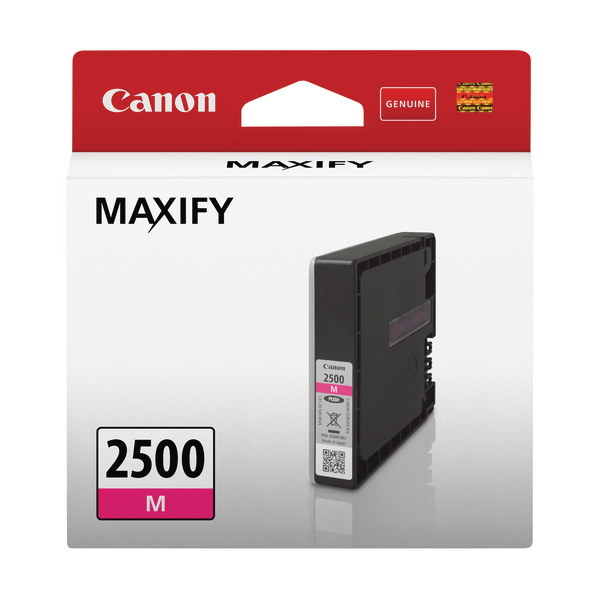 Canon PGI-2500 M Ink Cartridge Magenta 9302B001