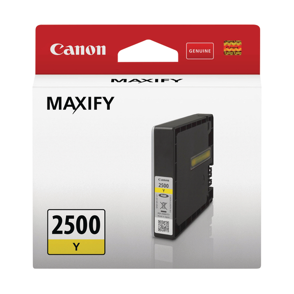 Canon PGI-2500 Y Ink Cartridge Yellow 9303B001