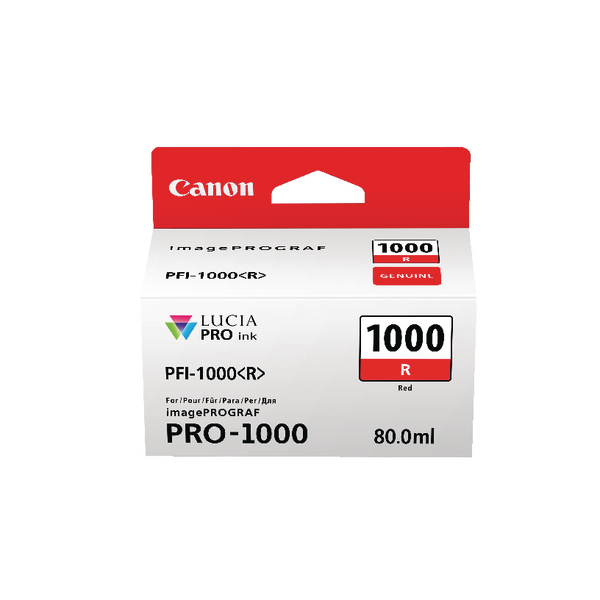 Canon Red Ink Tank Pro 1000 0554C001