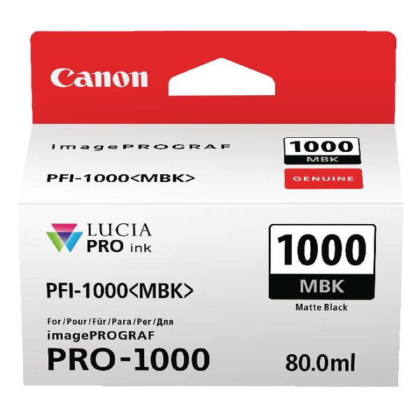 Canon Matte Black Ink Tank Pro 1000 0545C001