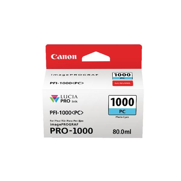 Canon Photo Cyan Ink Tank Pro 1000 0550C001
