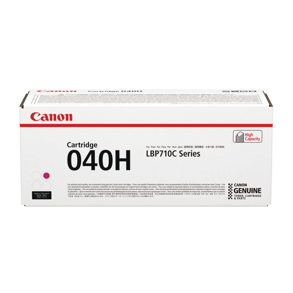 Canon 040H Magenta Toner Cartridge High Capacity 0457C001