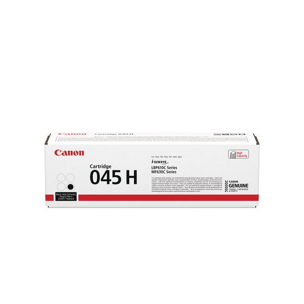 Canon 045 Laser Printer Toner Black HY 1246C002