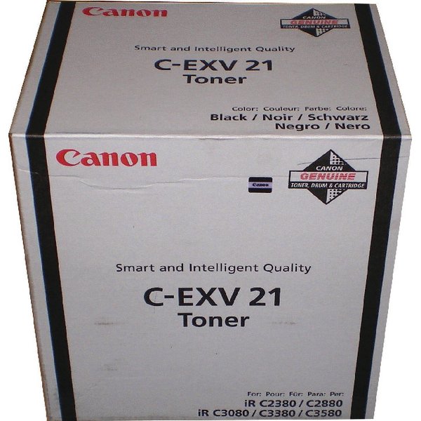 Canon Black Laser Toner Cartridge 0452B002