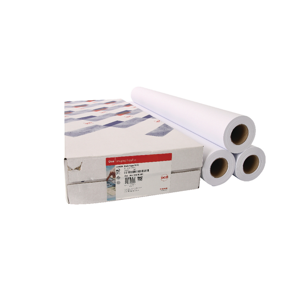 Canon Uncoated Draft Inkjet Paper 610mm x 50m (Pack of 3) 97003457