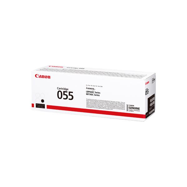 Canon 055 Laser Toner Cartridge Black 3016C002