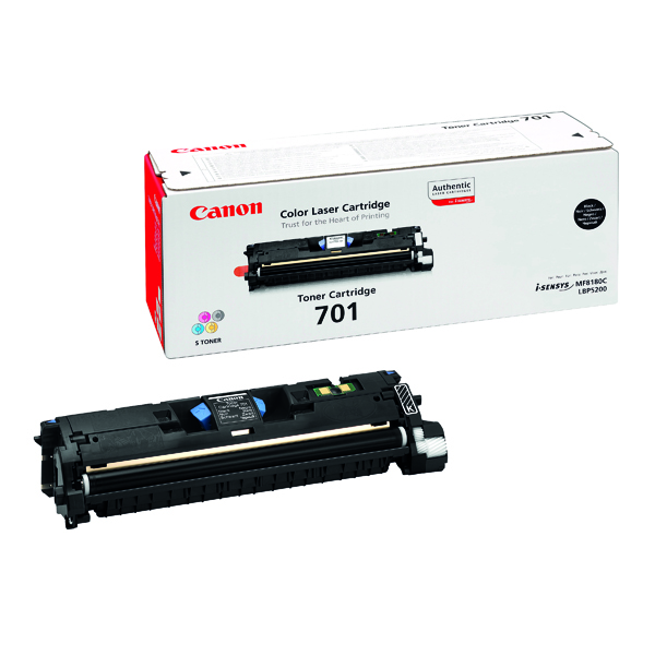 Canon Laser Shot LBP-5200 High Yield Black Toner Cartridge 701BK 9287A003
