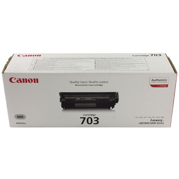 Canon 703 Black Toner Cartridge 7616A005