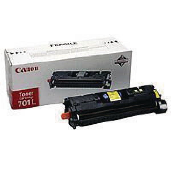 Canon 701LY Yellow Toner Cartridge 9288A003