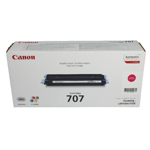 Canon 707 M Magenta Toner Cartridge 9422A004