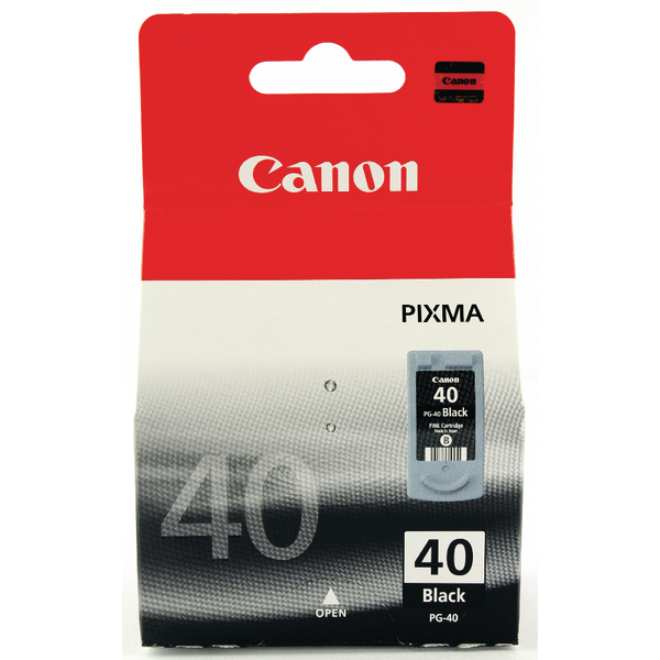 Canon PG-40 Black Inkjet Cartridge 0615B001
