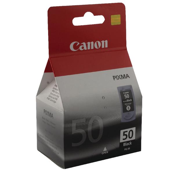 Canon PG-50 Black Inkjet Cartridge High Yield 0616B001